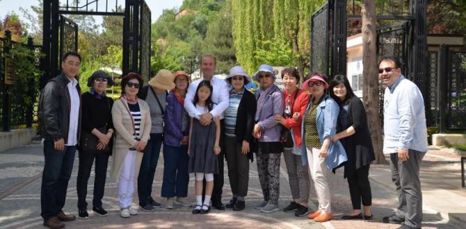 GÜNEY KORE'DEN BİLECİK'E ZİYARET