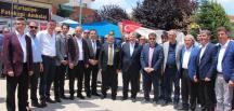 PAZARYERİ'NDE AK PARTİDEN BÜYÜK GÖVDE GÖSTERİSİ