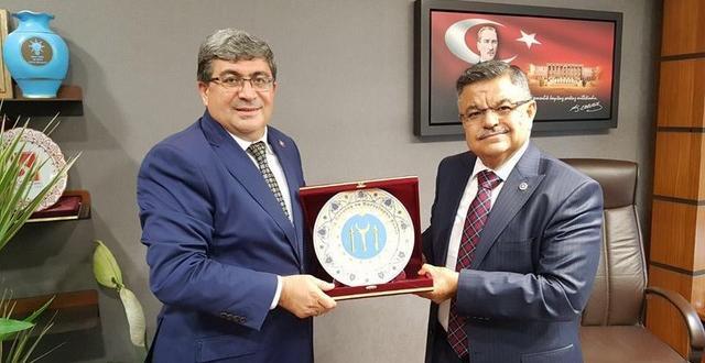 Başkan Can'dan Vekil Selim Yağcı'ya Ziyaret
