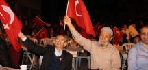 PAZARYERİ'NDE 15 TEMMUZ DEMOKRASİ VE BİRLİK BERABERLİK GECESİ