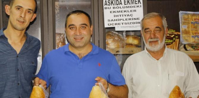 Pazaryeri'nde 'Askıda Ekmek' projesi