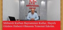 MF GAYRİMENKUL EMLAK HAYIRLI BAYRAMLAR DİLER