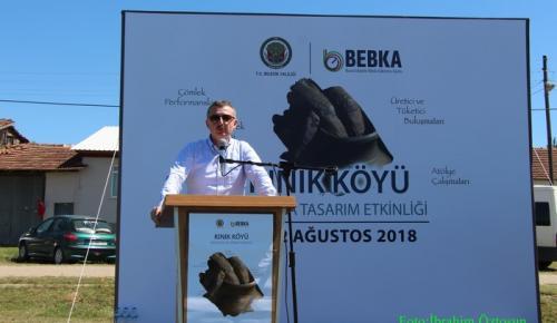"""""""Kınık Köyü Kırsalda Tasarım Etkinliği"""" Çömlekçilik festivali başladı"""
