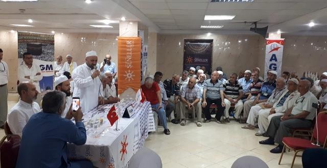 Bilecik AGM Hacılarının Arafat Öncesi Duygulu Anları