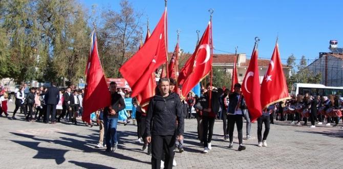 Pazaryeri'nde 29 Ekim Cumhuriyet Bayramı Coşkusu