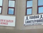 Bozüyük Şehit Aileleri ve Gaziler dayanışma Derneği'nden TERÖR'e Lanet Mesajı