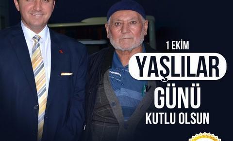 """BAŞKAN BAKICI """"YAŞLILARIMIZ GEÇMİŞİMİZİN AYNASI, GELECEĞİMİZİN YOL GÖSTERİCİSİDİR"""""""