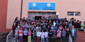 Pazaryeri Kınık Köyü İlköğretim Öğrencilerine Trafik Eğitimi Verildi