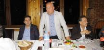 Bilecik Amatör Spor Kulüpleri Federasyonu basın mensuplarına yemek düzenledi