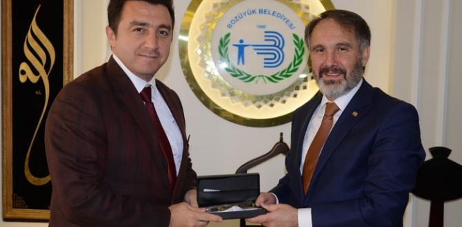BEM-BİR-SEN GENEL BAŞKAN YARDIMCISI BAŞKAN BAKICI'YI ZİYARET ETTİ