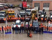 ''BİLECİK BELEDİYESİ EKİP VE EKİPMANLARI İLE KIŞA HAZIR''