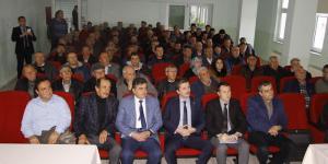 PAZARYERİ'NDE ŞERBETÇİ OTU DEĞERLENDİRME TOPLANSI YAPILDI