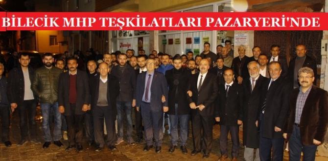MHP Genişletilmiş İl İstişare Toplantısı Pazaryeri'nde Yapıldı
