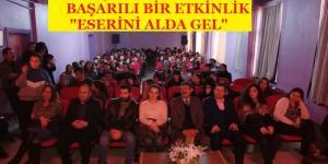 """PAZARYERİ HDL ANADOLU LİSESİNDE """"ESERİNİ AL GEL"""" ETKİNLİĞİ"""