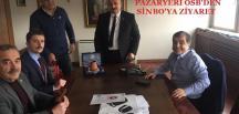 PAZARYERİ OSB YÖNETİMİNDEN SİNBO'YA ZİYARET