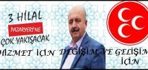 "PAZARYERİ'NDE ""50 YIL SONRA YENİDEN MHP"""