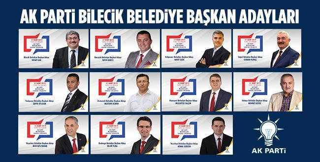 AK Parti Bilecik Aday Tanıtım Toplantısı Yapıldı