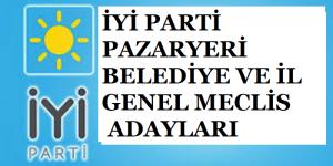 Pazaryeri İyi Parti Belediye Başkan Adayı Belediye ve İl Genel Meclis Üyesi Adayları