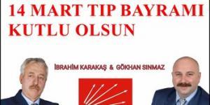 CHP İL GENEL MECLİS ÜYELERİ TIP BAYRAMINI KUTLADI