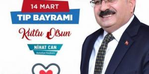 BAŞKAN CAN'IN 14 MART TIP BAYRAMI MESAJI