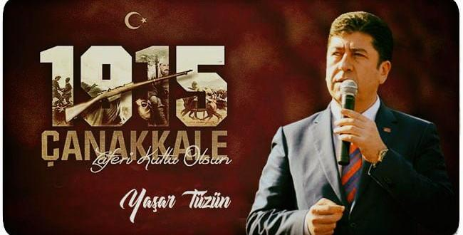 CHP MİLLETVEKİLİ TÜZÜN'ÜN 18 MART MESAJI