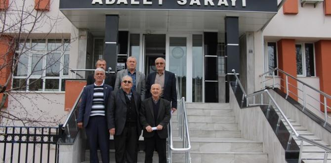 PAZARYERİ MUHTARLARI MAZBATALARINI ALDI