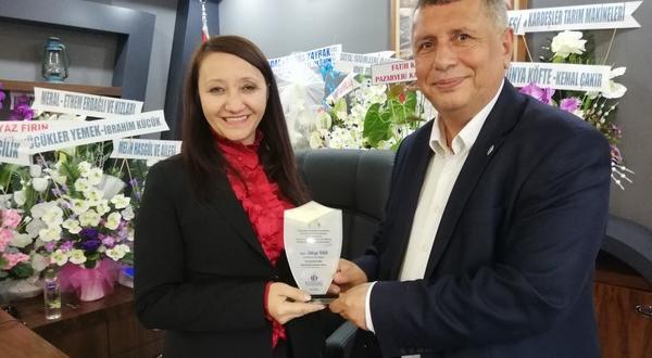 BOZGİDED' TEN TEKİN'E ZİYARET