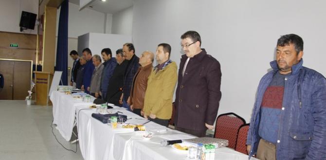 Pazaryeri ve Köyleri Şerbetçiotu Kooperatifi Genel Kurulu
