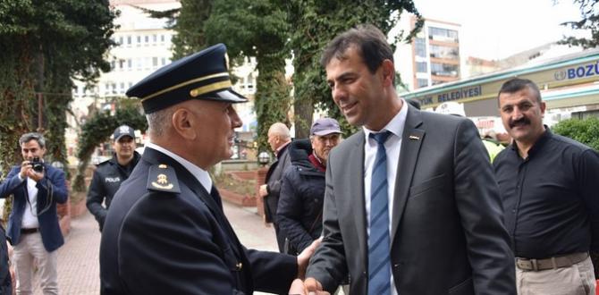 BOZÜYÜK'TE ŞEHİT POLİSLER İÇİN MEVLİD OKUNDU
