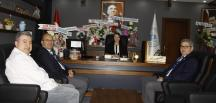 Bozüyük Rotary Kulübü Yönetiminden Başkan Tekin'e Ziyaret