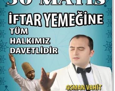 PAZARYERİ BELEDİYESİNDEN 30 MAYIS AKŞAMINA DAVET