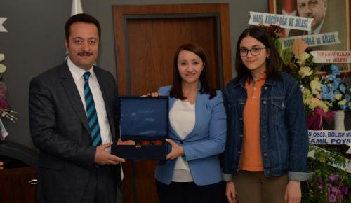 Bilecik Valisi Şentürk' ten Başkan Tekin'e Ziyaret