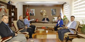 Pazaryeri Derneklerinden Kaymakam Oray'a Ziyaret
