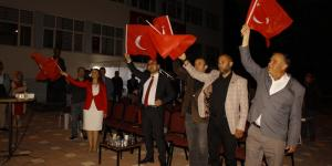 Pazaryeri 15 Temmuz , Demokrasi ve Milli Birlik Günü'de tek yürek oldu
