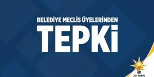 AK PARTİ'DEN MECLİS PROTESTOSU