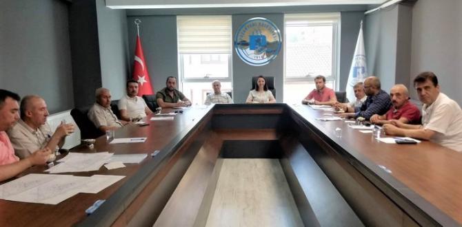 Pazaryeri Belediye Meclisi Ağustos Ayı Olağan Toplantısı