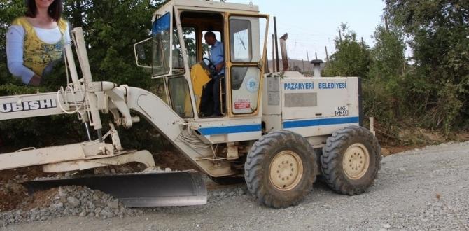 Pazaryeri Belediyesi Arazi Yollarını Düzenliyor