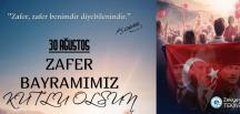 BELEDİYE BAŞKANI TEKİN'İN 30 AĞUSTOS ZAFER BAYRAMI MESAJI
