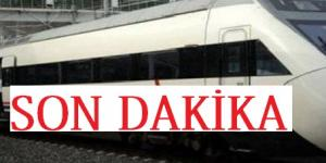 ŞELALE TÜNELİNDE TREN KAZASI
