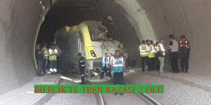 Şelale Tünelinde Tren Kazası: 2 Ölü