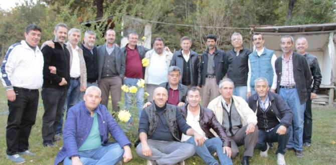 PAZARYERİ'NDE 68-69 TERTİPLERDEN 30.YIL TOPLANTISI