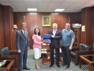 Pazaryeri Belediye Başkanı Tekin'in Eskişehir Temasları
