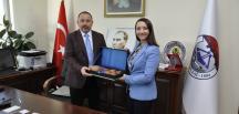 Başkan Tekin'den , Söğüt Belediye Başkanı Sever'e Ziyaret