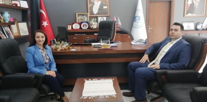 Pazaryeri Kaymakamı Çırak'tan Başkan Tekin'e Ziyaret