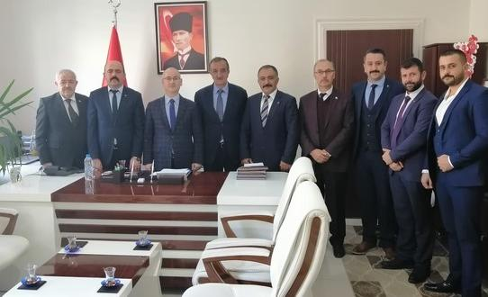 Bozüyük MHP yönetiminden Kaymakam Yaman'a ziyaret