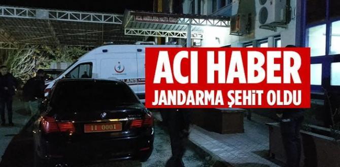 Kazada Yaralanan Uzman Jandarma Mert K. Şehit Oldu