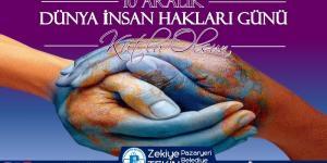 Başkan Tekin'in 10 Aralık Dünya İnsan Hakları Günü Mesajı