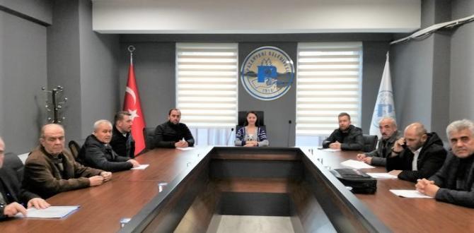 PAZARYERİ'NDE ARALIK AYI BELEDİYE MECLİS TOPLANTISI YAPILDI