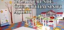 Pazaryeri Atatürk Ortaokulu'na Özel Eğitim Sınıfı Açıldı