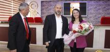 Başkan Tekin'in Bozüyük Mesleki ve Teknik Anadolu Lisesinde Kariyer Günleri Konferansı